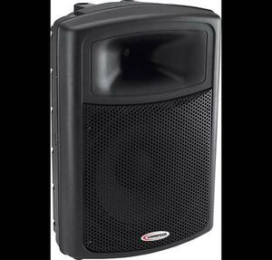 Powered PA Speakers Harbinger 2 and Stands