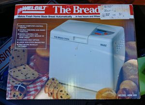 Bread maker Preowned