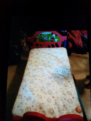 Toddler Mickey Bed