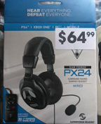 PX24 TurtleBeach Headset Wired