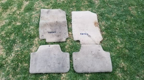 2004 - 2008 Acura TSX OEM Tan Ugly Floor Mats 4 Piece (Auto Parts) in San Bernardino, CA