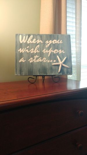 """""""When You Wish Upon A Star"""" Home Decor"""