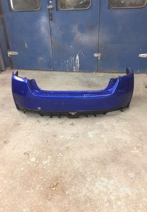 Subaru WRX 2011-2015 bomper de atrás OEM ojo no es bomper tc