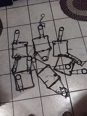 Jumping leg traps