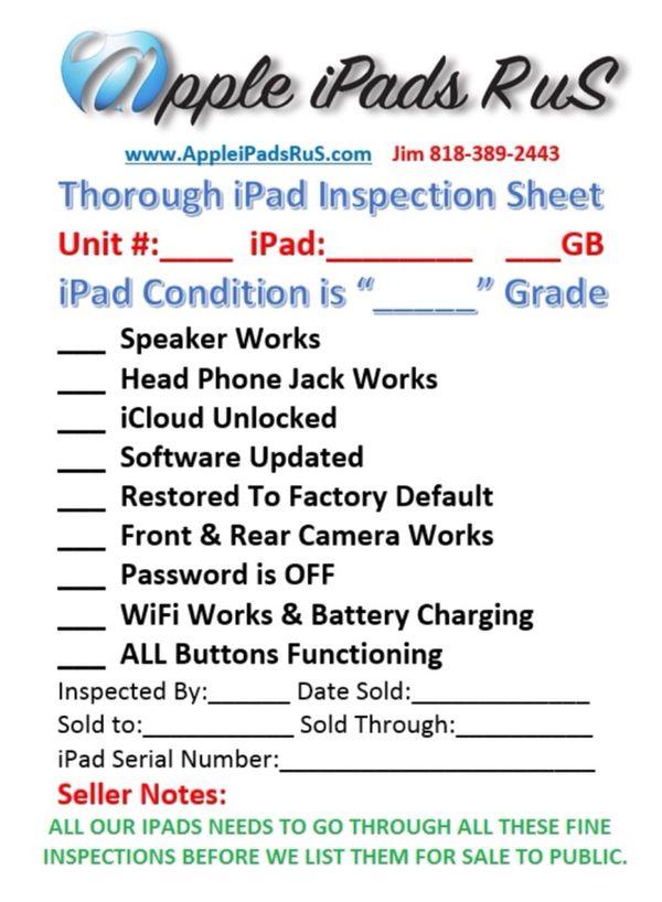 M35 - iPad Air 1 32GB