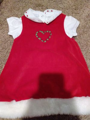 Baby girl Christmas dress 18 months