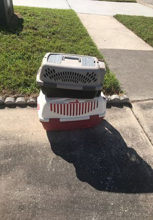 2 cat cages for 1 price