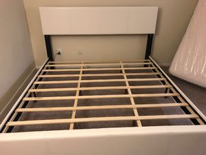 Brand new king size platform bed frame