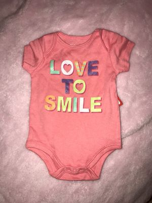 Love To Smile Onesie (0-3 Months)