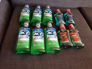 10 Bottles Mouthwash. Please See All The Pictures and Read the description