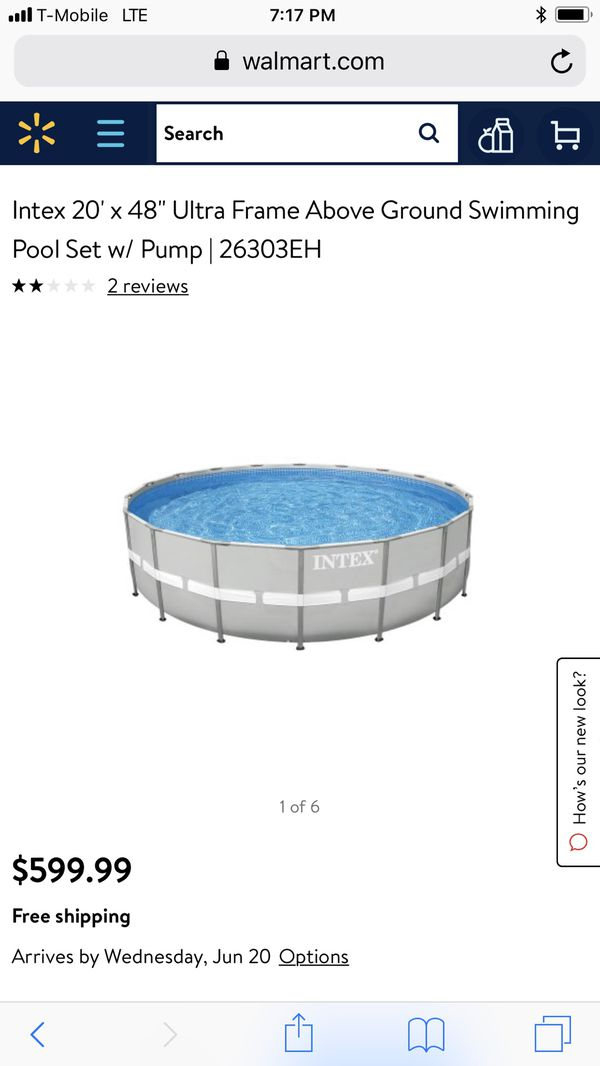 Fancy Intex 18x9x52 Rectangular Frame Pool Vignette - Frames Ideas ...