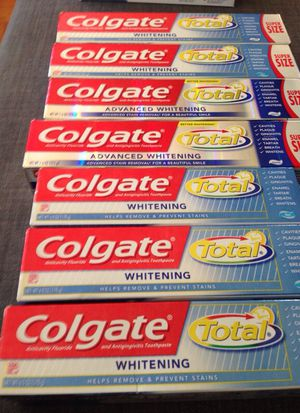 * 7 Tubes of Colgate. Please See All The Pictures and Read the description