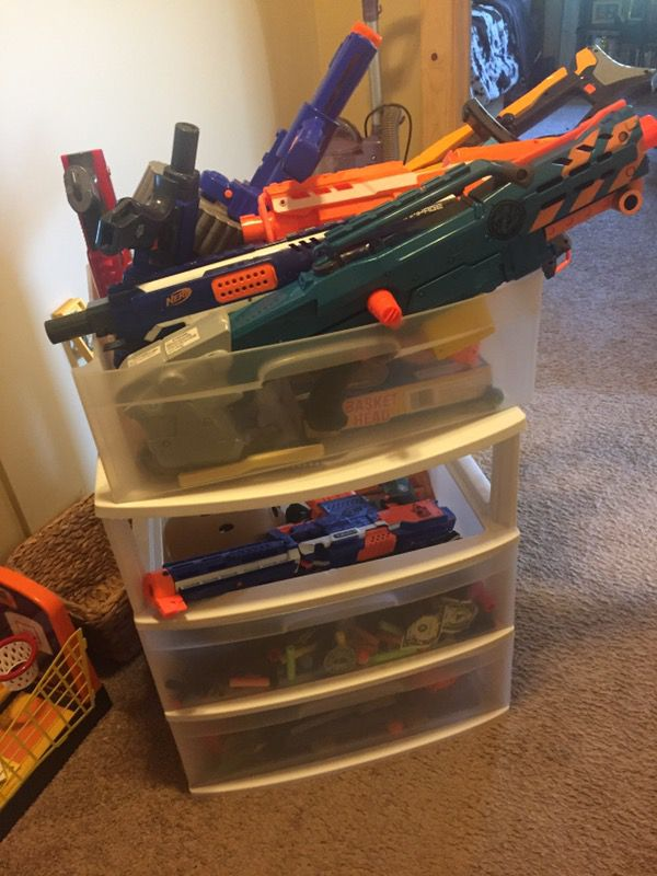 nerf gun storage turn a closet into a armory plus more storage and  organization ideas nerf