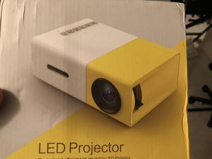 LED high Res projector