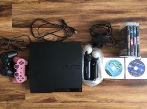 Slim black PS3 console (CECH-3001B)