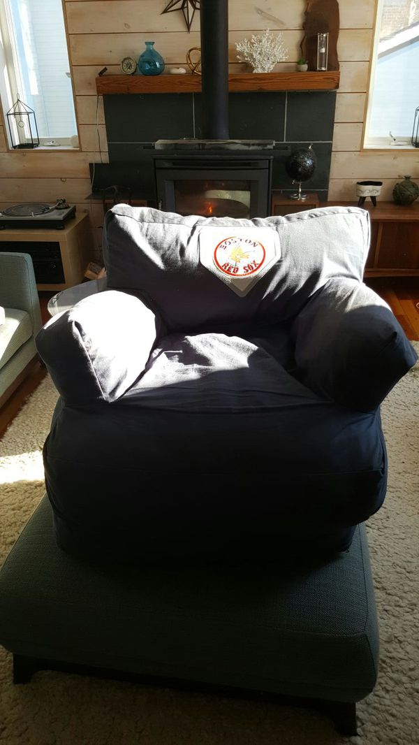 Pottery Barn Kids Red Sox Bean Bag Chair