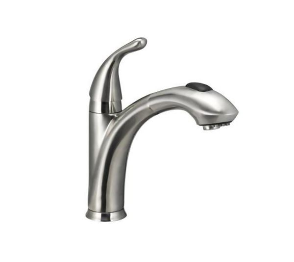 Glacier Bay Keelia Single-Handle Pull-Out Sprayer Kitchen Faucet ...