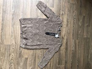 Brand new back-zip detailed women sweater