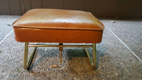 Vintage Mid Century Laz E Rest Adjustable Hassock Ottoman Footstool Furniture In Seattle Wa