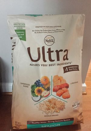 Ultra Dog food 30lbs bag