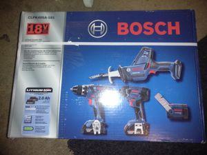 Bosch 4 tool kit