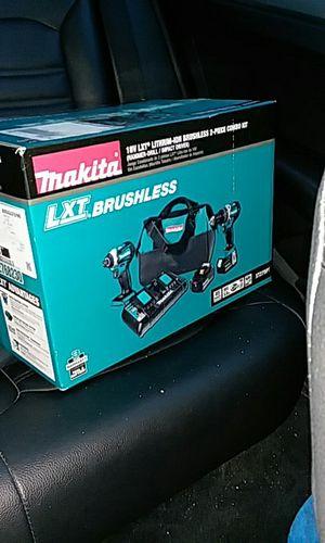 Brand new Makita drill set
