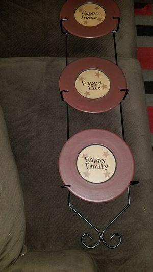 Plate holder & plates