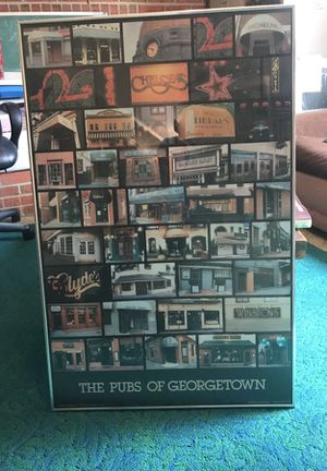 Pubs of Georgetown Framed Poster