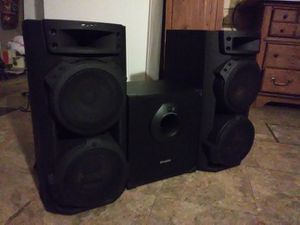 Sony Speakers with Powered Subwoofer