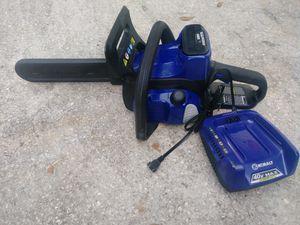 Kobalt chainsaw 40V