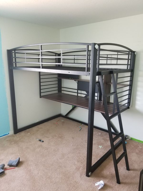 office bunk bed. Bunk Bed Office Desk For Kids.