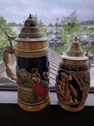 2 German traditional Beer Steins