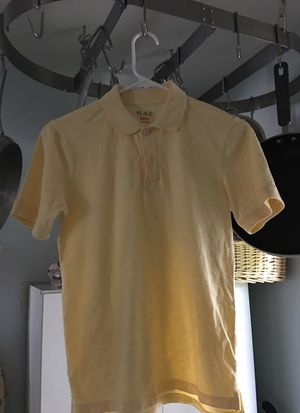 Yellow polo shirt kids