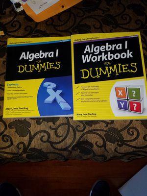 Algebra 1 For Dummies (With Workbook No Writing Inside)