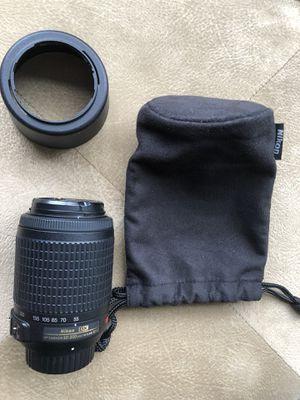 55/200 mm Nikon camera zoom lens