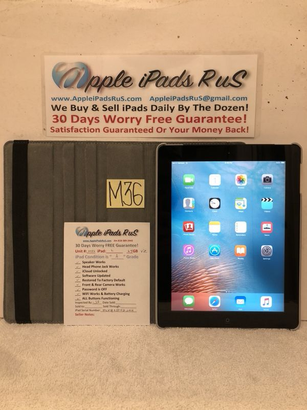 M36A - iPad 2 64GB Cell-VZ