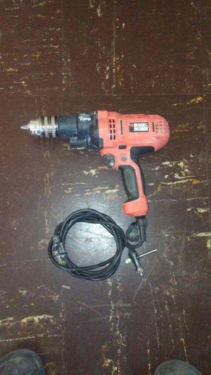 Black & Decker Drill. 7 amp 1/2in