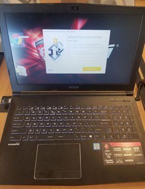 Mirco-Star International Gamer Laptop