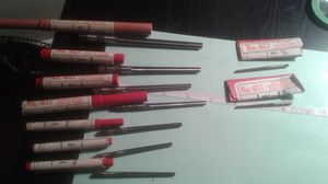 Cleveland No.657 HSS strait flute taper pin reamers. Lot of 9.
