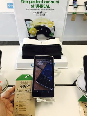 Cricket Wireless limited time offer: Switch to cricket and get the Alcatel Idol4 for $49.99*