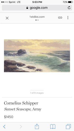 Cornelius Chipper Oil Painting