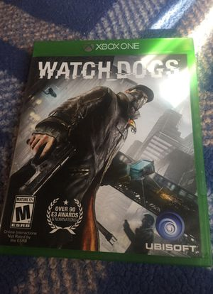 wach dog xbox one