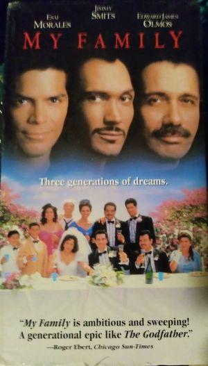 "My Family ""VCR/VHS Movie"""