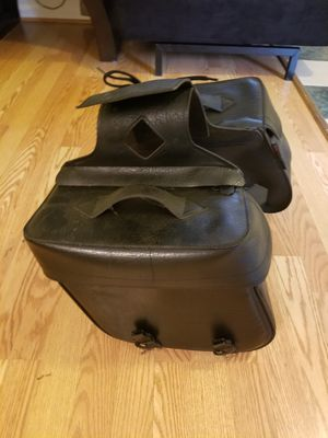 Saddle Bags with Mounting Brackets