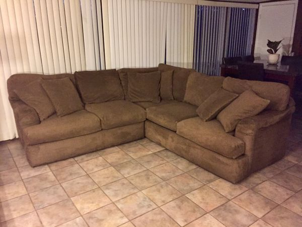 Robert Michael Down Filled Sectional Sofa Furniture in Phoenix