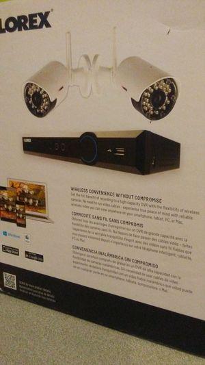 LOREX 1080P DVR 2 CAMERAS