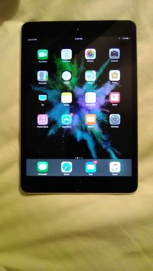 iPad mini 4 WiFi and cellular