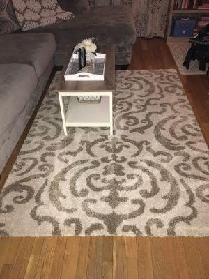 """5'3""""x7'6"""" cream area rug"""