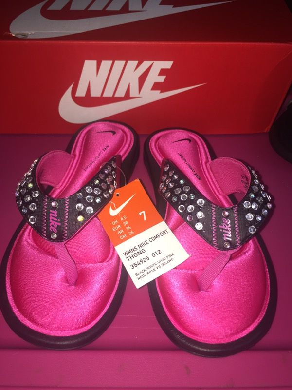 Custom Nike Comfort Footbed thong #LitFlops™ (Clothing & Shoes) in Chicago  Ridge, IL