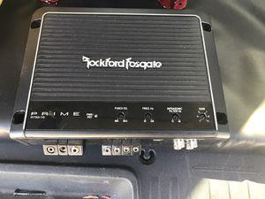 Rockford Fosgate 750.1 class D bass amp